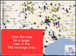 tae coverage map