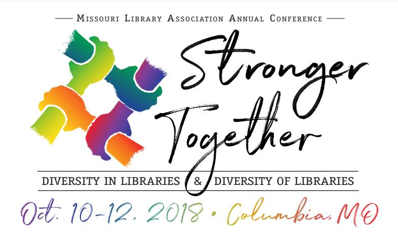 Missouri Library Association 2018 conference logo