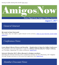 icon of AmigosNow newsletter
