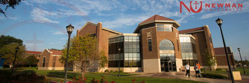 Newman University's Dugan Library image