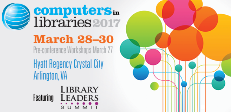 Computers in Libraries 2017 logo