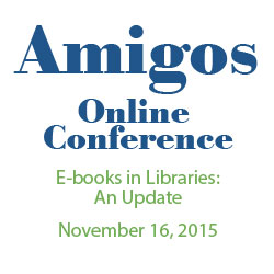 E-books in Libraries: An Update conference logo