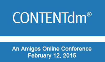 Using CONTENTdm An Amigos Online Conference logo