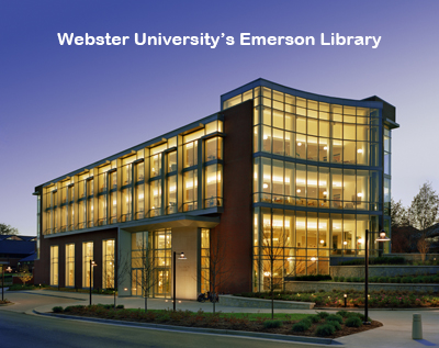 Webster University's Emerson Library