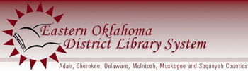 Eastern OK District Library System logo