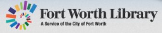 Fort Worth Library logo