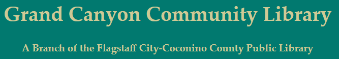 Grand Canyon Community Library logo