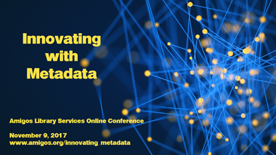 Innovating with Metadata conference image
