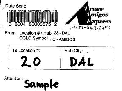 barcode label image