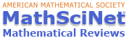 American Mathematical Society: MathSciNet logo
