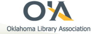 Oklahoma Library Association logo
