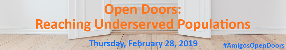 Open Doors: Reaching Underserved Populations logo